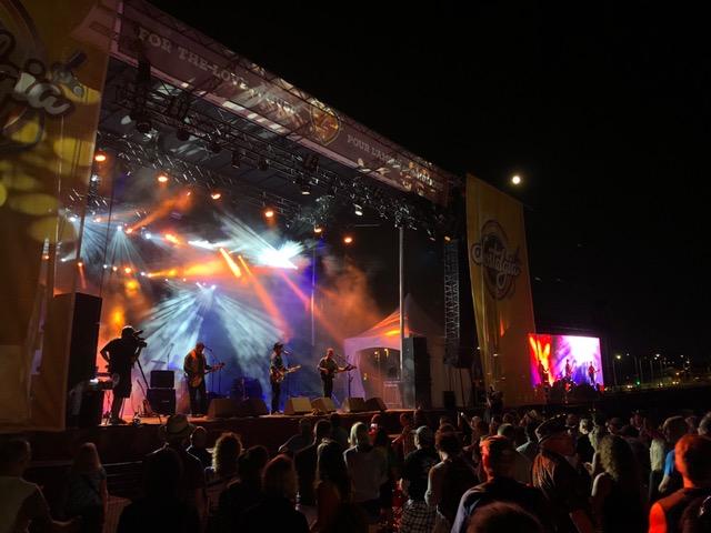 Practically Petty performs during Nostalgia Fest in Ottawa.